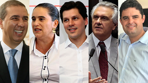 Candidatos ao governo de Goiás se enfrentam em debate da RecordTV nesta sexta-feira (28)