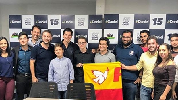 Juventude do PSB em Goiás declara apoio a Daniel Vilela