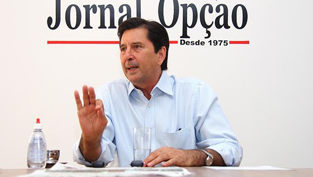 """""""Quem não estiver satisfeito deixe o partido"""", diz Maguito sobre briga interna no MDB"""
