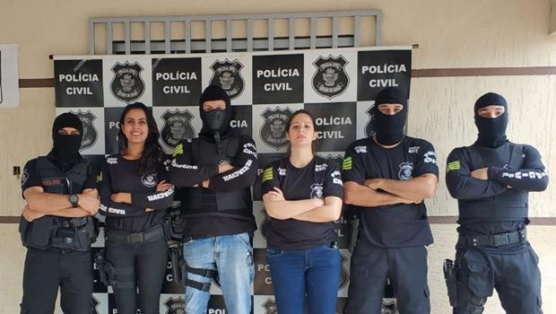 Operação prende cinco pessoas por tráfico de drogas em Goiás