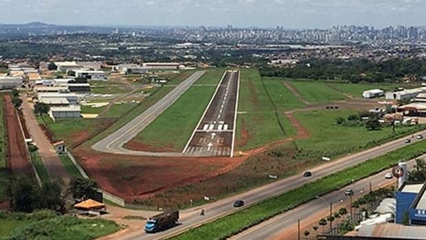 Aeródromo Nacional de Aviação de Goiânia é fechado por tempo indeterminado