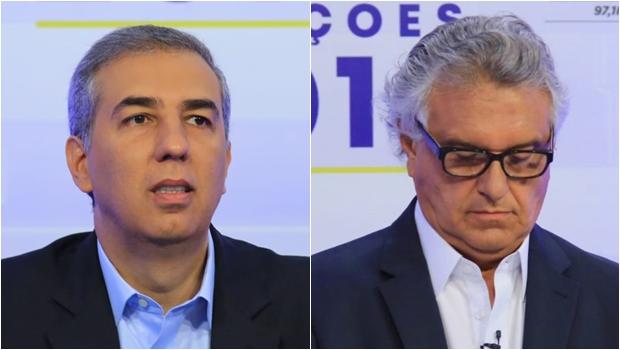 Em debate, Zé Eliton diz que Caiado ignora casos de corrupção de aliados