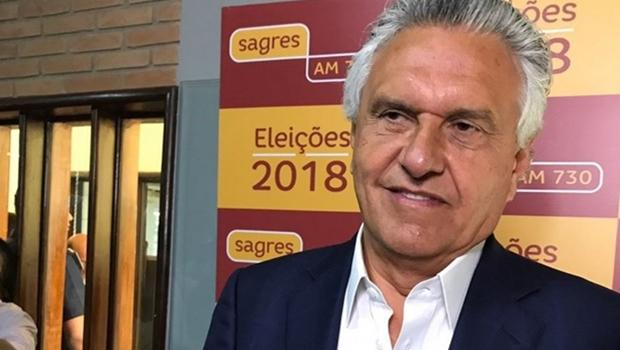 Em debate na Sagres, Caiado é confrontado sobre possível apoio a Bolsonaro