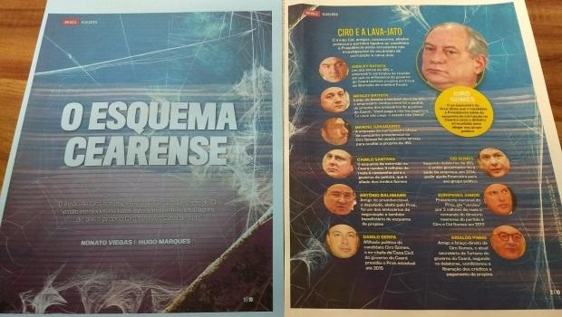 """Revista Veja diz que aliado de Ronaldo Caiado """"vendeu"""" Pros para Ciro Gomes e Cid Gomes"""