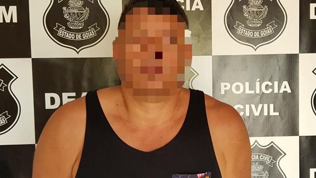 Homem é preso em Goiás suspeito de abusar de filho do próprio enteado