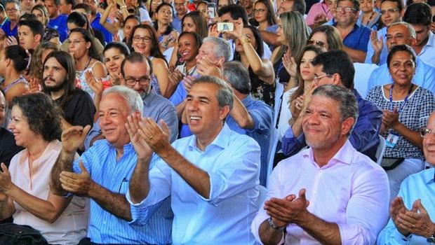 Zé Eliton anuncia conclusão das obras de interligação dos sistemas João Leite e Meia Ponte