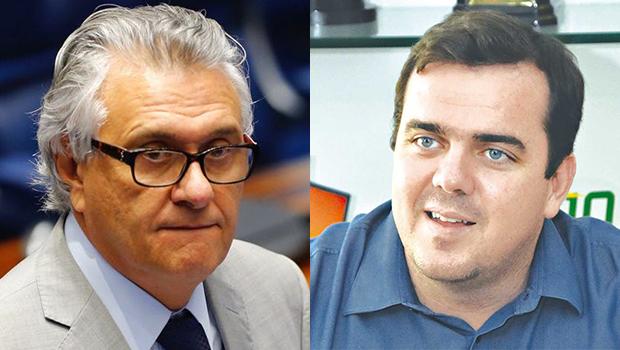 """Mendanha diz que Caiado """"requenta"""" notícia de dissidentes do MDB para marketing"""