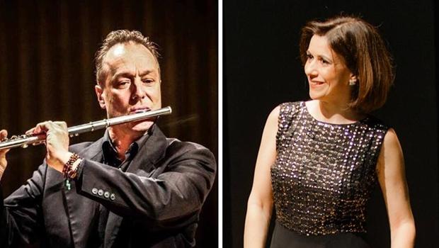 Dinamarquês Rune Most e Ana Flávia Frazão em apresentação inédita