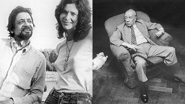 """Naipaul disse que imagem de """"velho"""" de Borges travou percepção de sua grandeza literária"""