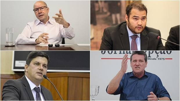 Demóstenes, Jean, Lucas e Vecci são favoritíssimos para deputado federal