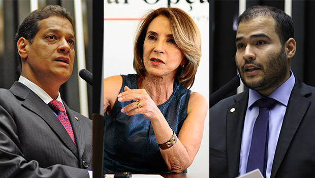 Raquel Teixeira pede votos para Lucas Vergílio e Armando Vergílio