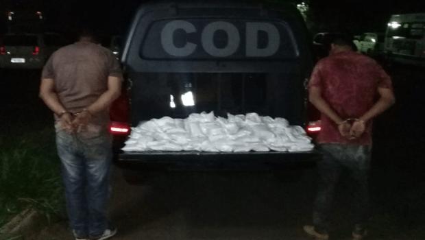 Carga de drogas avaliada em R$ 400 mil é apreendida na Grande Goiânia