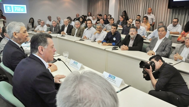 Empreendedores do setor industrial declaram apoio a Marconi