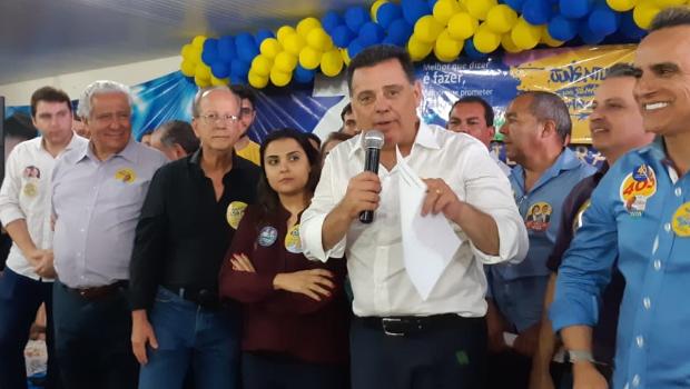 """Marconi recebe apoio de vereadores de Goiânia e mostra confiança: """"Consciência limpa"""""""