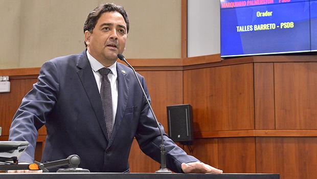 """Talles Barreto critica equipe de Caiado e diz que governo descumpre promessa de não fazer """"conchave"""""""