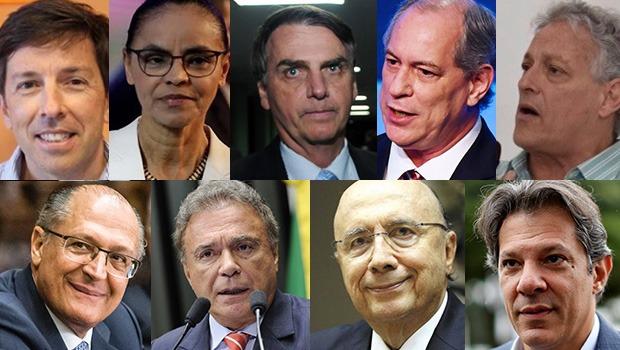 Dos 13 candidatos a presidente, nove fizeram campanha em Goiás