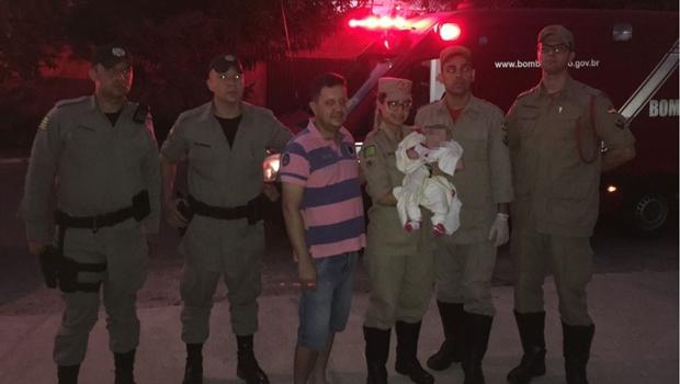 Bebê de dois meses é abandonado e encontrado em calçada de Goiânia