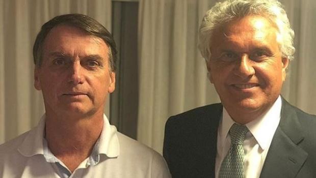 Revista Veja diz que Ronaldo Caiado é uma das maiores influências sobre Bolsonaro