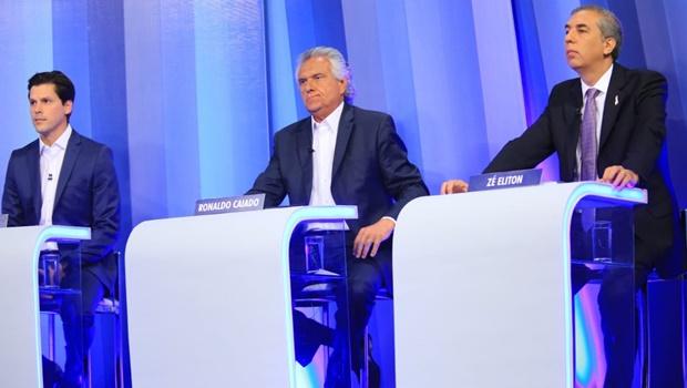 Eliton e Daniel trocam acusações durante debate eleitoral