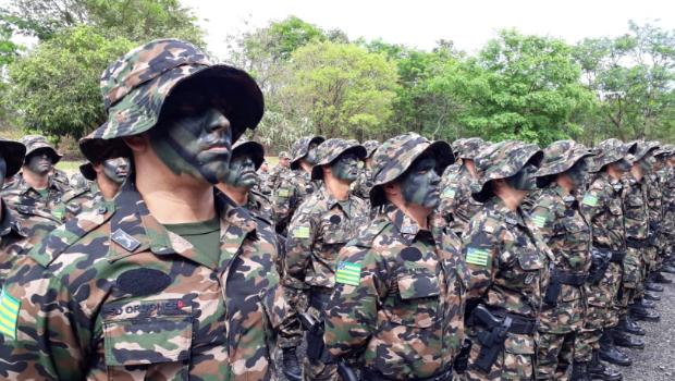Parque Altamiro Pacheco sedia formatura de 51 novos policiais militares ambientais