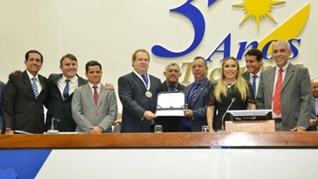 Assembleia Legislativa comemora 30 anos do Tocantins e presta homenagens