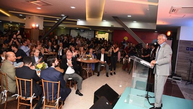 Em evento na 44, Caiado destaca importância do mercado da moda para Goiás