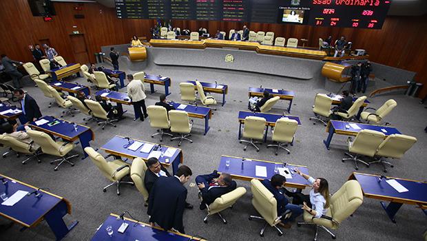 Em meio a discussão sobre eleição da mesa diretora, sessão da Câmara é prorrogada