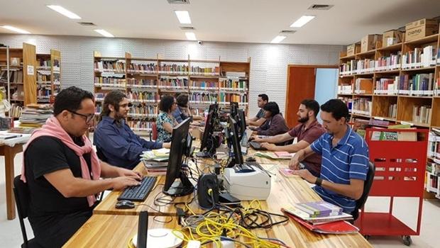 Biblioteca Isanulfo Cordeiro já tem 18 mil livros processados