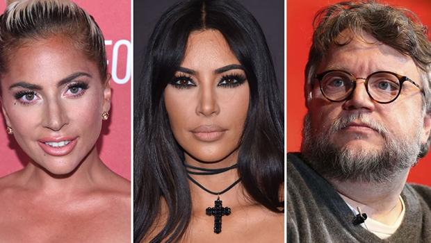 Resultado de imagem para Lady Gaga, Kim Kardashian e Guillermo del Toro