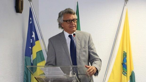 Meu compromisso é fazer uma gestão que seja modelo para todo o Brasil, diz Caiado