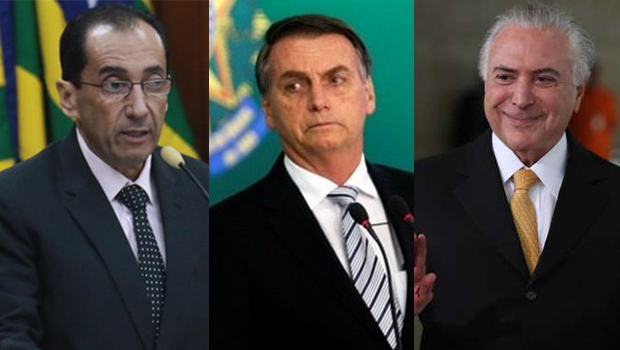 """Vai ser o primeiro crime do governo Bolsonaro"", diz Kajuru sobre Temer como embaixador"