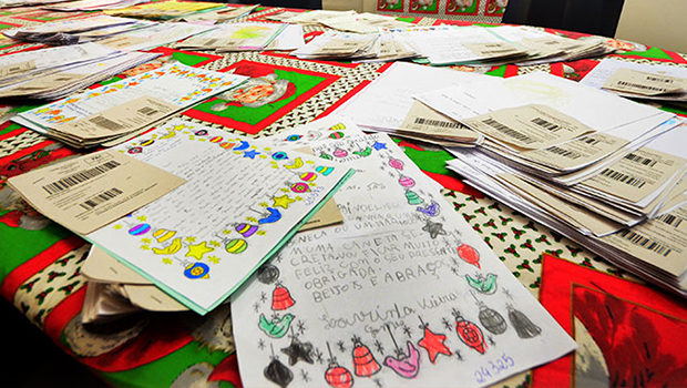 Tradicional campanha Papai Noel dos Correios começa nesta terça-feira (6)