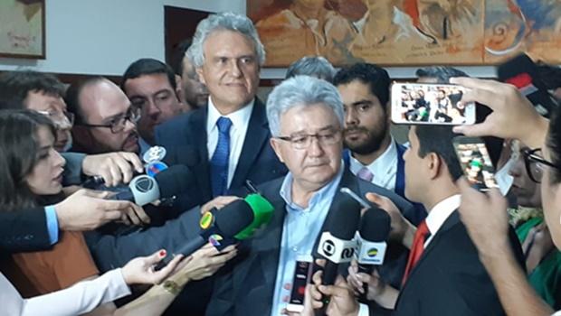 Caiado e Adial entram em acordo sobre redução dos incentivos fiscais