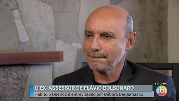 Quando Queiroz apareceu para limpar barra da família Bolsonaro a coisa fedeu