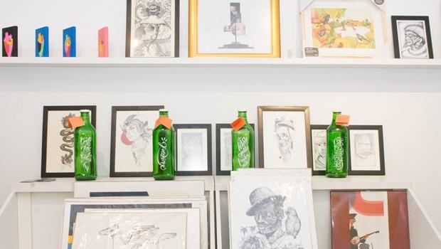 Obras de arte têm descontos de até 40% em bazar