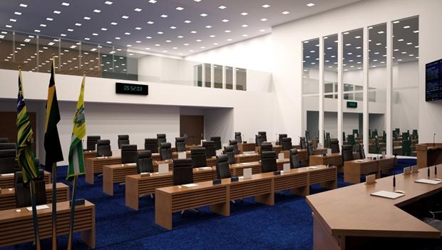 Aparecida de Goiânia lança pedra fundamental da nova sede da Câmara Municipal