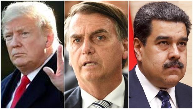 Maduro diz que Trump planeja seu assassinato com apoio de Bolsonaro