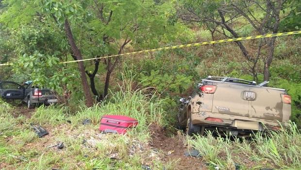 Três pessoas morrem em acidente na BR-040
