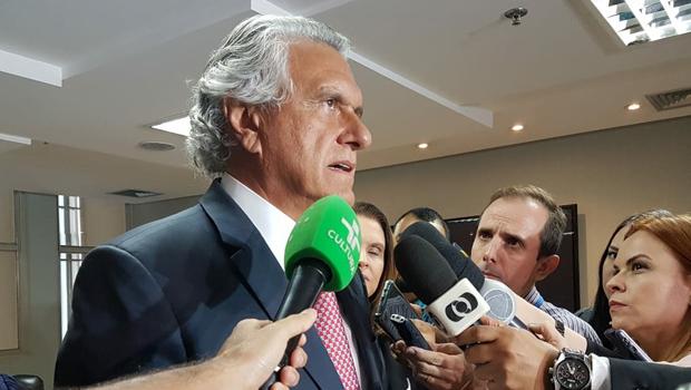 """""""Informações foram manipuladas e a situação fiscal do Estado acabou deteriorada"""", diz Caiado"""