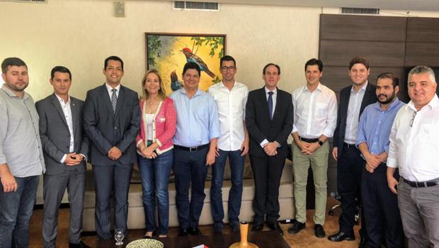 Presidente da Alego e deputados se reúnem com Daniel Vilela
