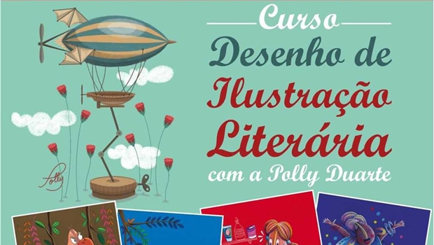 Basileu França abre inscrições para curso de Desenho de Ilustração Literária
