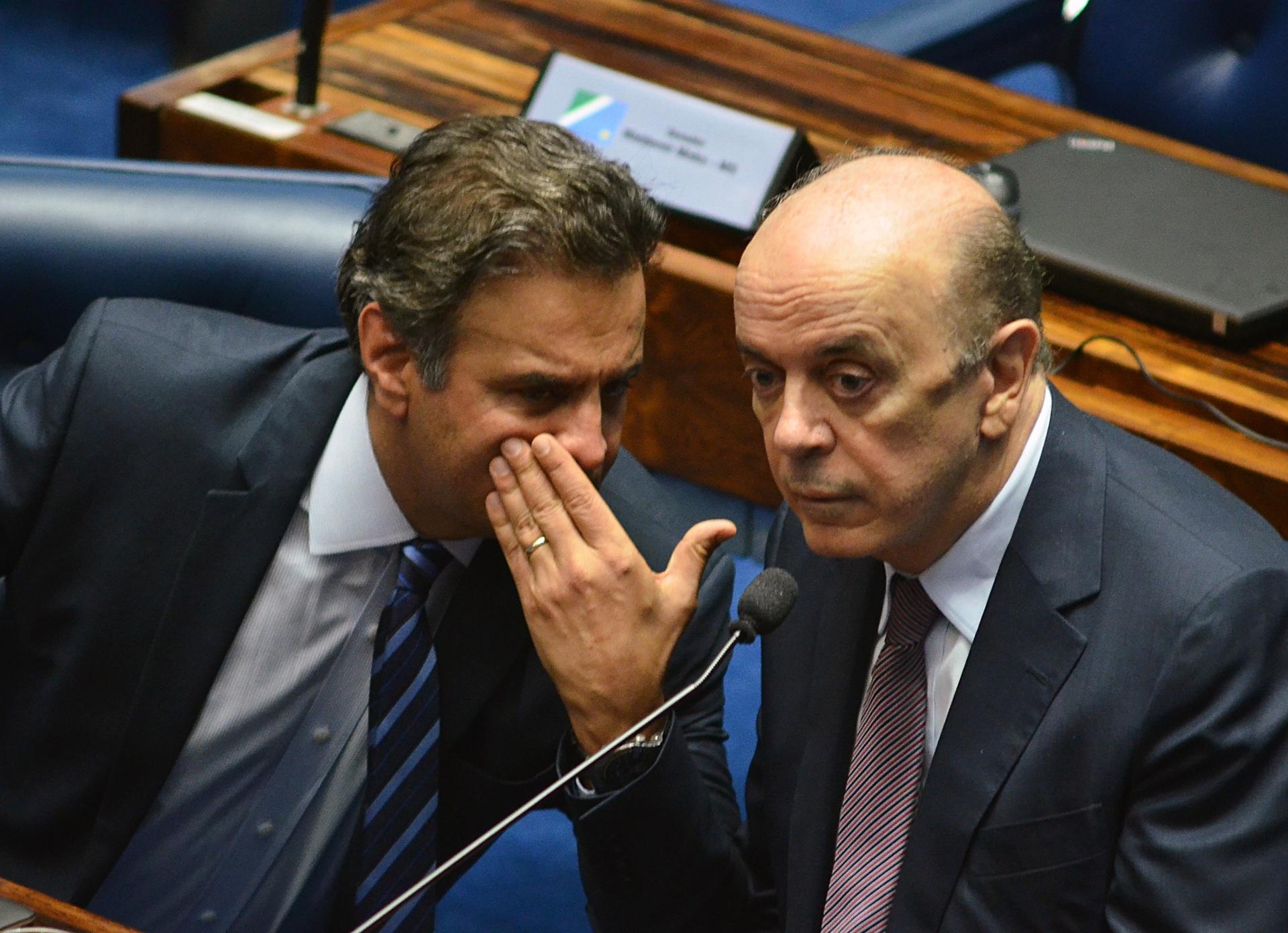 Jovens do PSDB vão tentar expurgar José Serra, Aécio Neves, Alckmin e Aloysio Nunes