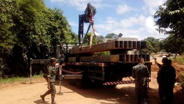 Exército começa a atuar em trecho interditado da GO-060