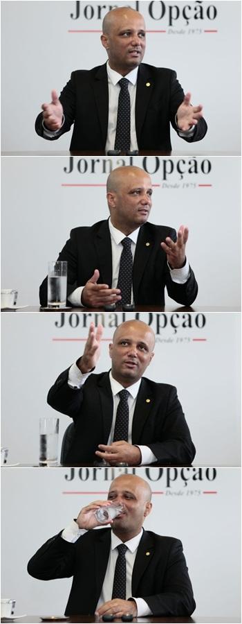 Major Vitor Hugo cineminha - Fotos Fernando Leite Jornal Opção