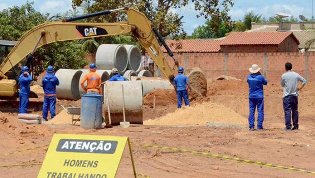 Obras do Jardim Taquari serão reiniciadas após período chuvoso