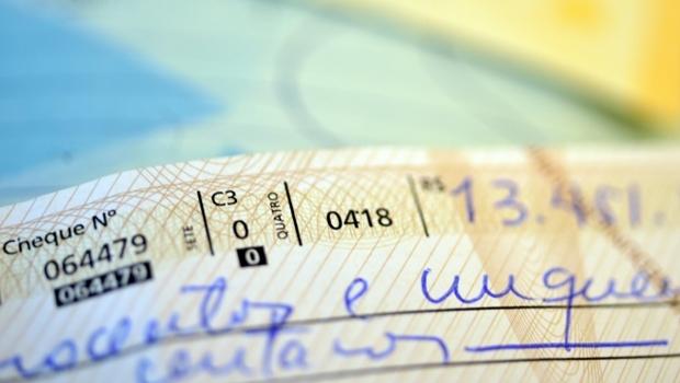 O portador de um cheque sem portador conhecido