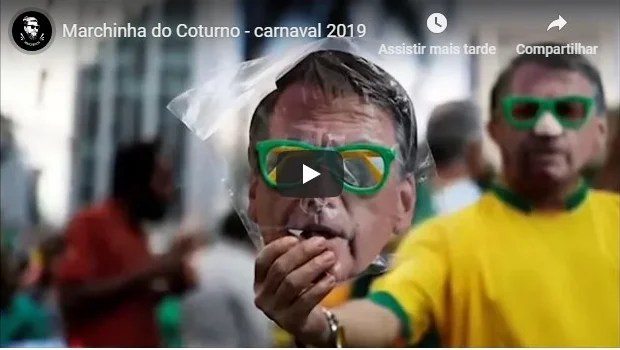 As cinco melhores marchinhas com o presidente Jair Bolsonaro