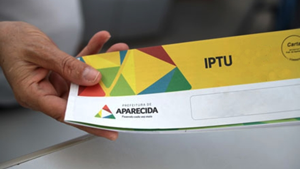 Em Aparecida, prazo para pagamento do IPTU e ITU com desconto se encerra nesta sexta-feira