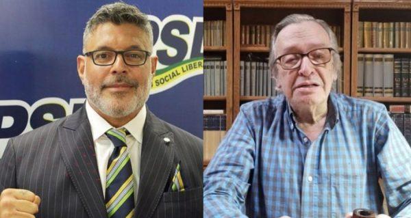 Alexandre Frota ataca Olavo de Carvalho, critica Onyx e cobra saída de Ernesto Araújo