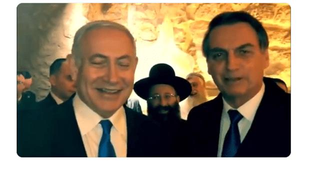 Bolsonaro deseja sorte a Neymar e Medina; Netanyahu os convida a Israel